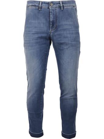 Jeckerson Pantal Ankle Chino Slim Trousers