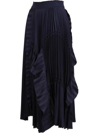 High 'fantastic' Polyester Skirt