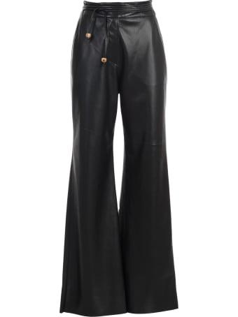 Nanushka Chimo Pants W/patchwork
