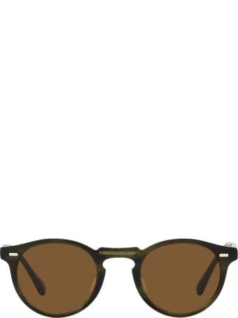 Oliver Peoples Oliver Peoples Ov5456su Emerald Bark Sunglasses