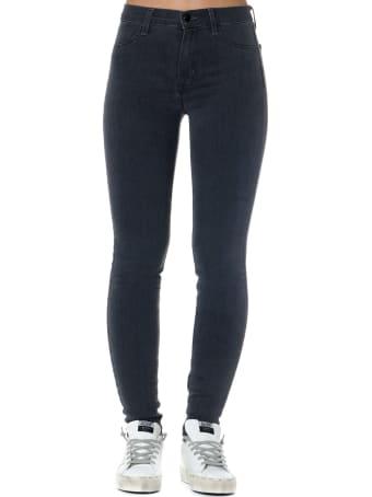 J Brand Black Cotton Skinny Jegging