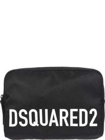 Dsquared2 Logo Printed Belt Bag
