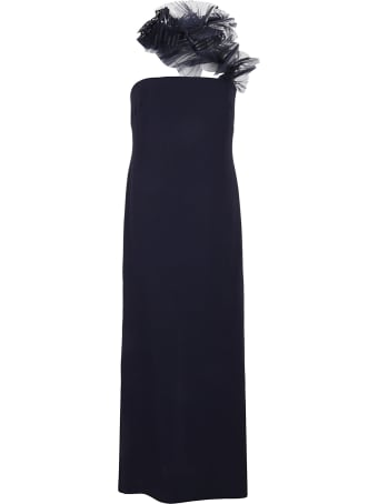 Ralph Lauren Black Label Lowell Tulle-cady Gown