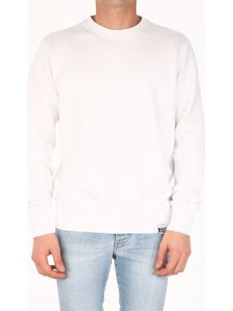 Golden Goose Star Sweatshirt White