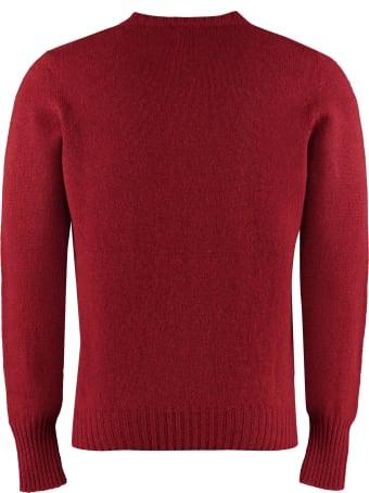 Drumohr Wool Crew Neck Sweater