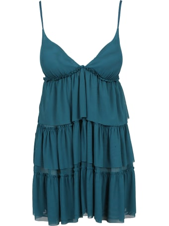 Fisico - Cristina Ferrari Tiered Babydoll Dress