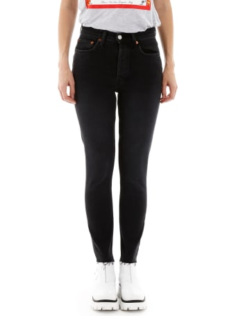 RE/DONE Skinny High Rise Jeans