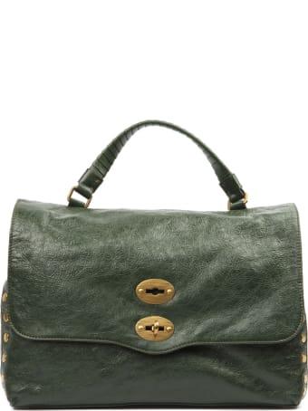 Zanellato Lustro Green Leather Bag