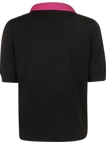 Be Blumarine Short Sleeve Sweater
