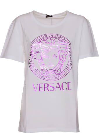 Versace Medusa And Logo T-shirt