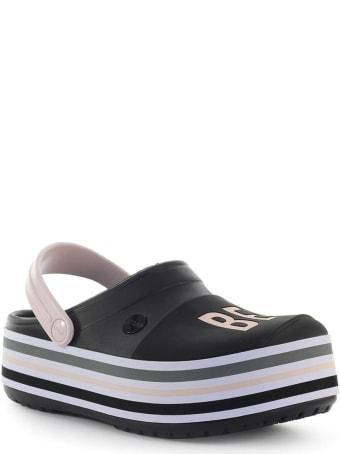 Crocs 'be You' Black Platform Clog