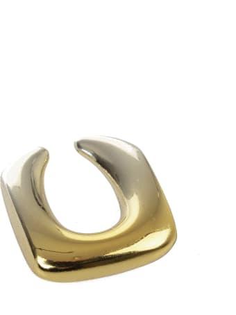 GCDS Metallic Effect Earrings