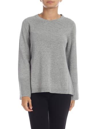 Kangra Grey Merino Wool Pullover