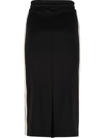 Palm Angels Techno Jersey Pencil Skirt