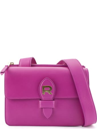 Rochas Fuchsia Leather Bag