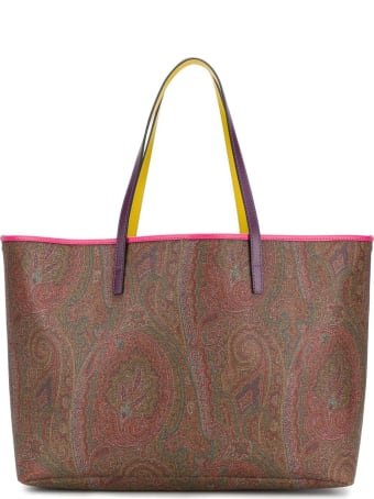 Etro Large Paisle Tote Bag