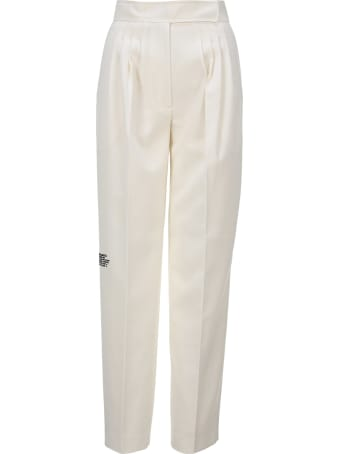 Burberry London Tailored Pants With Geographical Coordinates