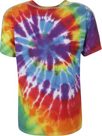 Collina Strada Tie Dye Embellished T-shirt