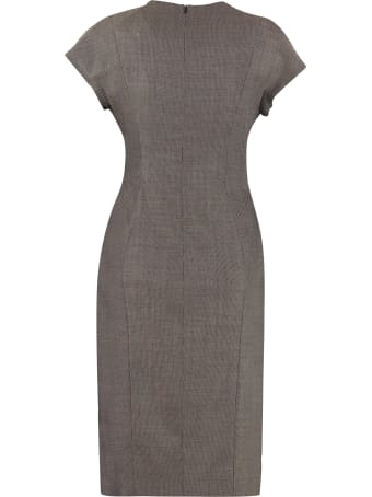 Max Mara Studio Osimo Draped Midi Dress