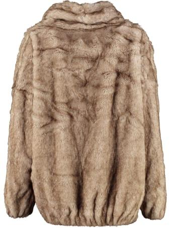 Mes Demoiselles Cheldon Faux Fur Jacket