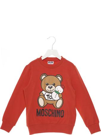 Moschino 'teddy Snowman' Sweatshirt