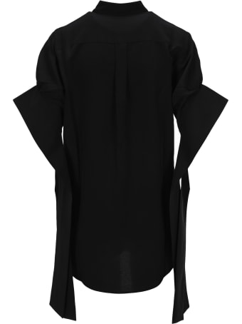 J.W. Anderson Jw Anderson Round Hem Exaggerated Sleeve Shirt