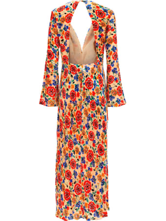 RIXO Long Dress