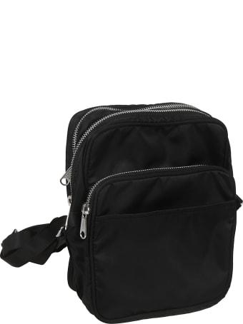 Black Comme des Garçons Adjustable Strap Shoulder Bag