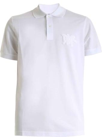 Dior Homme Dior White Polo
