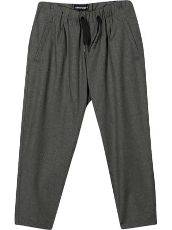Emporio Armani Gray Trousers