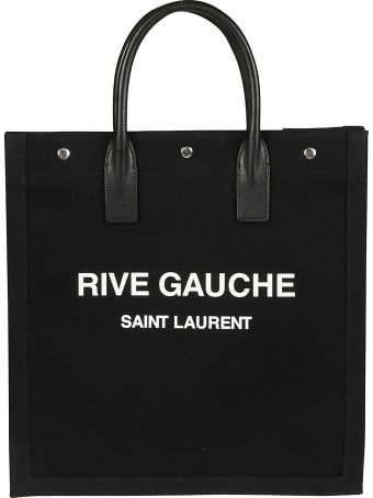 Saint Laurent Logo Print Tote