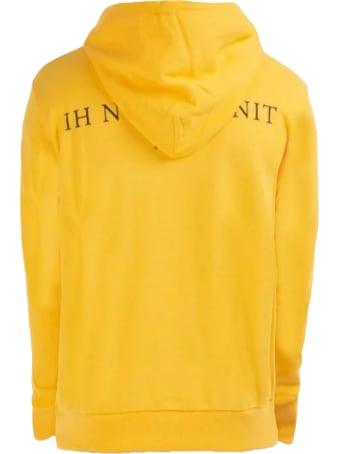 ih nom uh nit Yellow Cotton Blend Hoodie