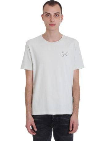Ben Taverniti Unravel Project T-shirt In Grey Cotton