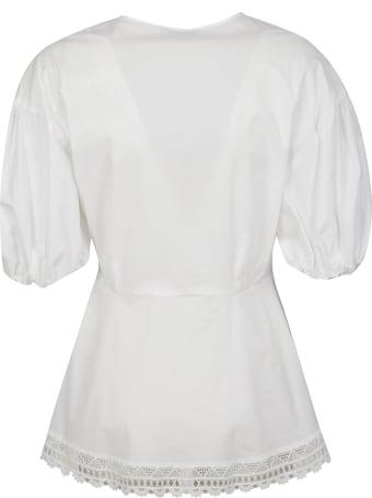 Vivetta V-neck Embroidered Shirt