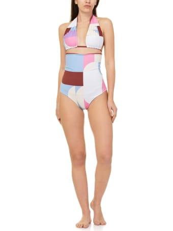 Mimì a la mer Print Swimsuit