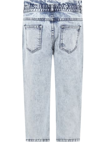 The New Society Light Blue ''lola'' Jeans For Girl