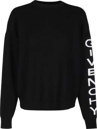 Givenchy Black Wool Blend Jumper