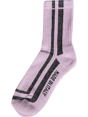 GCDS Milano Ribbed Socks