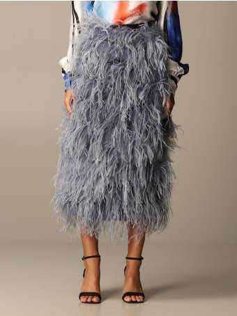 Stella Jean Skirt Stella Jean Feather Skirt