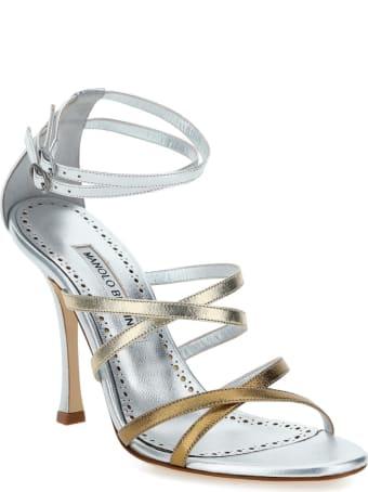 Manolo Blahnik Triplexa Sandals