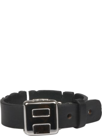 AMBUSH Logo Leather Bracelet