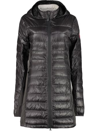 Canada Goose Hybridge Lite Long Hooded Down Jacket