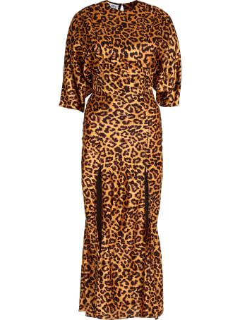 The Attico Printed Twill Dress