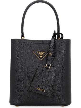 Prada Prada Panier Leather Handbag