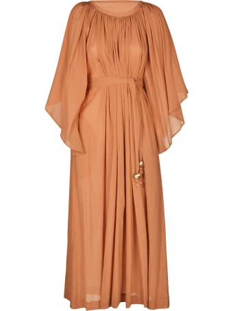 Lisa Marie Fernandez Angel Sleeve Maxi Dress