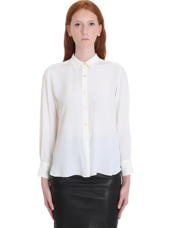 Mauro Grifoni Shirt In White Tech/synthetic