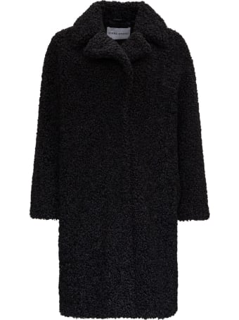 STAND STUDIO Camille Cocoon Teddy Coat