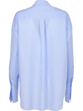 Jejia Light Blue Shirt With Bow