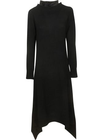 Sacai Ruffled Detail Dress