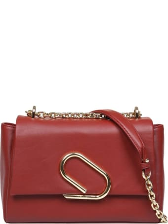 3.1 Phillip Lim Phillip Lim Alix Soft Chain Bag In Bordeaux Leather